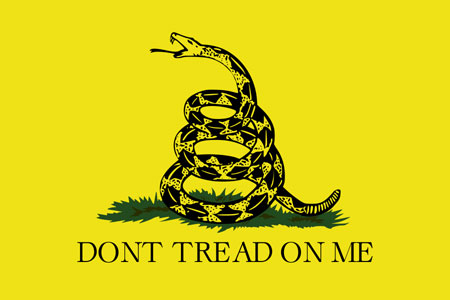 Drapeau Gadsden flag - Don't tread on me