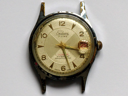 Montre Endura au radium