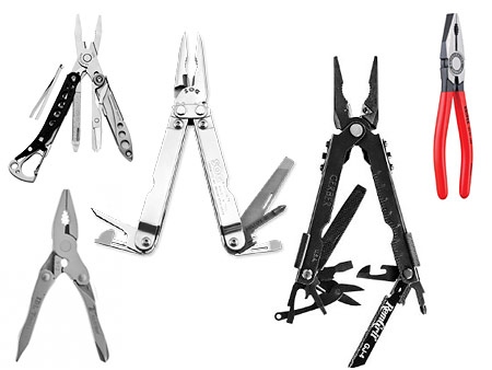 Pinces multitool sans lame