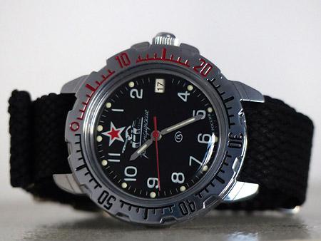 Vos montres russes customisées/modifiées - Page 3 Tank-komandirskie